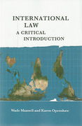 Cover of International Law: A Critical Introduction