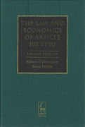 Cover of The Law and Economics of Article 102 TFEU