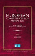 Cover of European Competition Law Annual 2010: Merger Control in European and Global Perspective