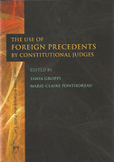 Cover of The Use of Foreign Precedents by Constitutional Judges