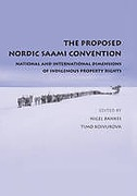 Cover of The Proposed Nordic Saami Convention