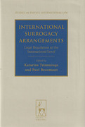 Cover of International Surrogacy Arrangements: Legal Regulation at the International Level