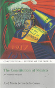 Cover of Constitution of Mexico: A Contextual Analysis