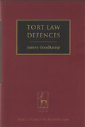 Cover of Tort Law Defences