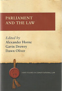 Cover of Parliament and the Law