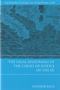 Cover of The Legal Reasoning of the Court of Justice of the EU