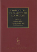 Cover of Cross-Border EU Competition Law Actions