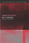 Cover of Arbitration in China: A Legal and Cultural Analysis