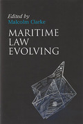 Cover of Maritime Law Evolving