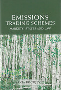 Cover of Emissions Trading Schemes: Markets, States and Law