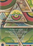 Cover of Critical Legal Perspectives on Global Governance: Liber Amicorum David M. Trubek