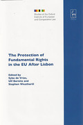 Cover of Protection of Fundamental Rights in the EU After Lisbon