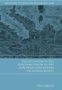 Cover of The Accession of the European Union to the European Convention on Human Rights