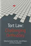 Cover of Tort Law: Challenging Orthodoxy