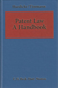 Cover of Patent Law: A Handbook