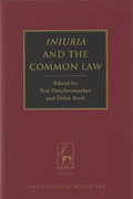 Cover of Iniuria and the Common Law