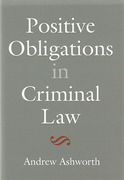 Cover of Positive Obligations in Criminal Law