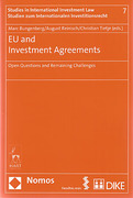 Cover of EU and Investment Agreements: Open Questions and Remaining Challenges