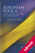Cover of European Police and Criminal Law Co-operation (eBook)