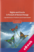 Cover of Rights in Pursuit of Social Change: Legal Mobilisation in the Multi-Level European System (eBook)