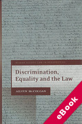 Cover of Discrimination, Equality and the Law (eBook)