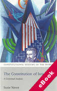 Cover of Constitution of Israel: A Contextual Analysis (eBook)
