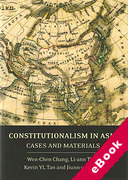 Cover of Constitutionalism in Asia: Cases and Materials (eBook)