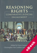 Cover of Reasoning Rights: Comparative Judicial Engagement (eBook)