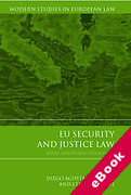 Cover of EU Security and Justice Law: After Lisbon and Stockholm (eBook)
