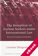 Cover of Reception of Asylum Seekers Under International Law: Between Sovereignty and Equality (eBook)