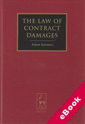 Cover of The Law of Contract Damages (eBook)