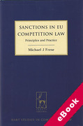 Cover of Sanctions in EU Competition Law: Principles and Practice (eBook)