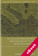 Cover of EU Asylum Procedures and the Right to an Effective Remedy (eBook)