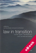 Cover of Law in Transition: Human Rights, Development and Transitional Justice (eBook)