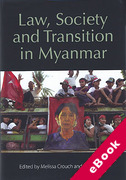 Cover of Law, Society and Transition in Myanmar (eBook)
