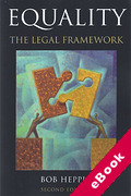 Cover of Equality: The Legal Framework (eBook)