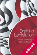 Cover of Drafting Legislation: Art and Technology of Rules for Regulation (eBook)
