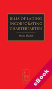Cover of Bills of Lading Incorporating Charterparties (eBook)