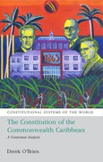 Cover of The Constitutional Systems of the Commonwealth Caribbean: A Contextual Analysis