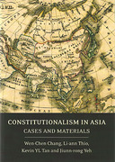 Cover of Constitutionalism in Asia: Cases and Materials
