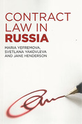 Cover of Contract Law in Russia