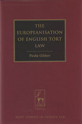 Cover of The Europeanisation of English Tort Law
