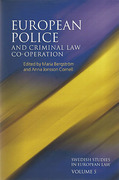 Cover of European Police and Criminal Law Co-operation