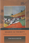 Cover of Shared Authority: Courts and Legislatures in Legal Theory