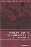 Cover of EU Environmental Law, Governance and Decision-making