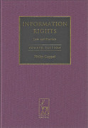 Cover of Information Rights: Law and Practice