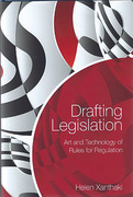 Cover of Drafting Legislation: Art and Technology of Rules for Regulation