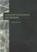 Cover of Constitutionalising Secession