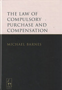 Cover of The Law of Compulsory Purchase and Compensation