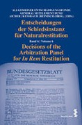 Cover of Decisions of the Arbitration Panel for In Rem Restitution: Volume 6